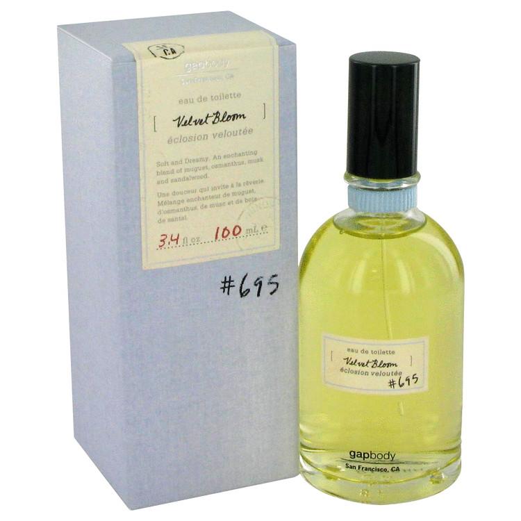 Velvet Bloom 695 Perfume by Gap 100 ml Eau De Toilette Spray for Women