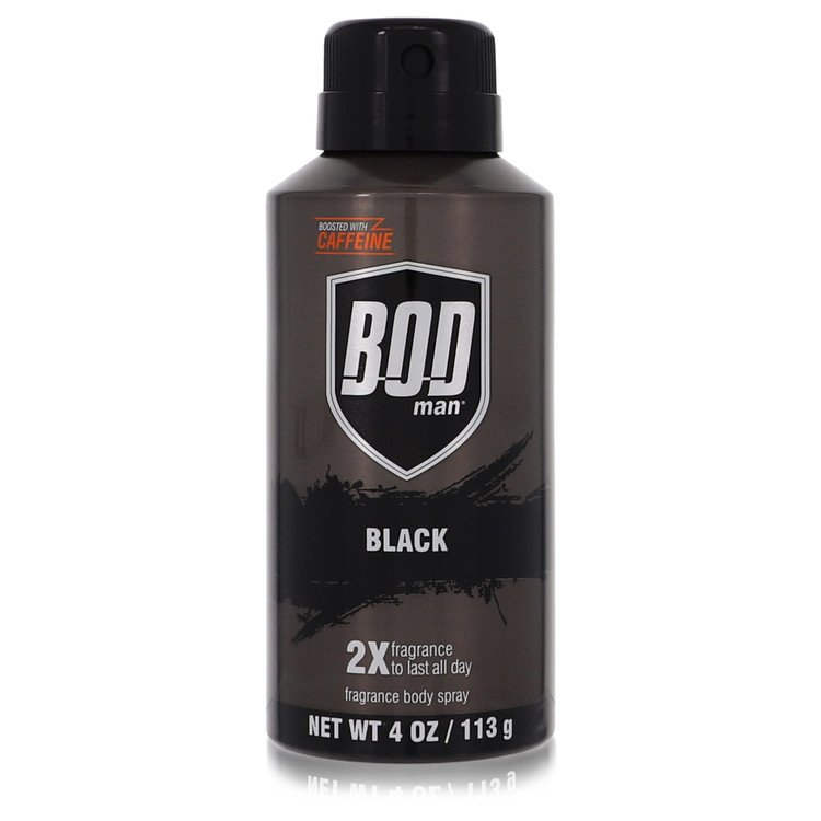 Bod Man Black by Parfums De Coeur for Men Gift Set -- Bod Man Set Includes Blue Surf, Really Ripped Abs, Most Wanted and Black a