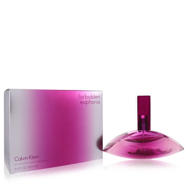 Forbidden Euphoria for Women, Gift Set (3.4 oz EDP Spray + 3.4 oz Body Cream + .33 oz Mini EDP)