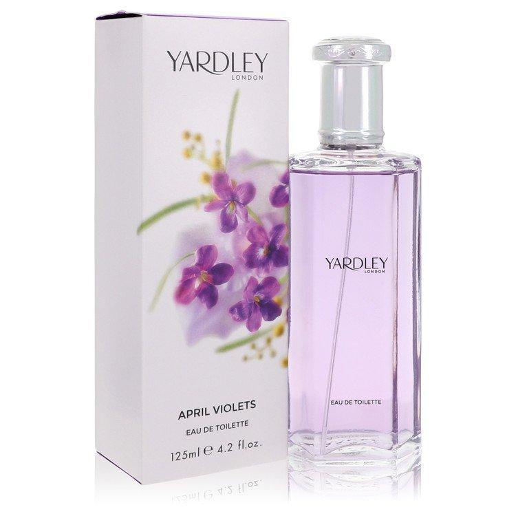 April Violets by Yardley London Women's Eau De Toilette Spray (unboxed) 1.7 oz
