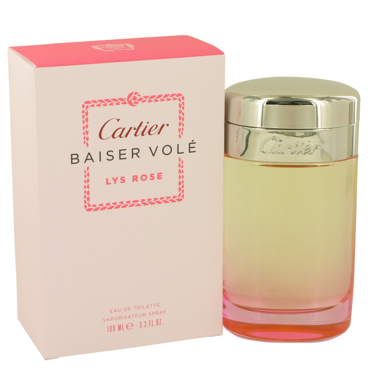 Perfume By Lys Women Baiser Cartier For Vole Rose WEH2YbeD9I