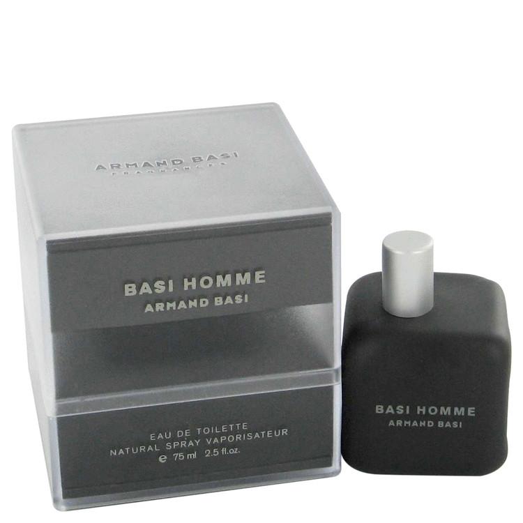 Basi Homme Deodorant by Armand Basi 2.5 oz Deodorant Spray for Men
