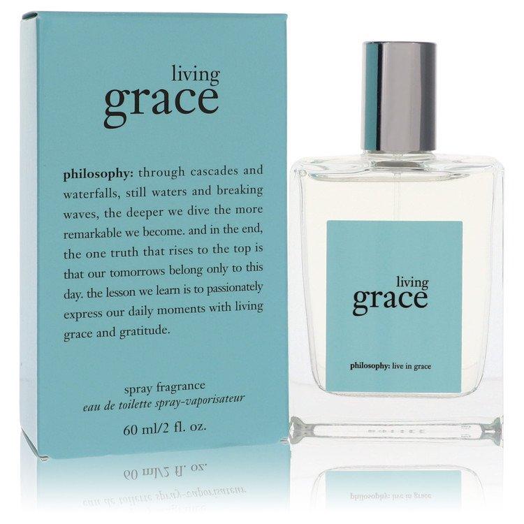 Living Grace by Philosophy Women's Eau De Parfum Spray (unboxed) 4 oz