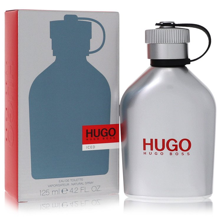 Hugo Iced by Hugo Boss for Men Eau De Toilette Spray 1.7 oz