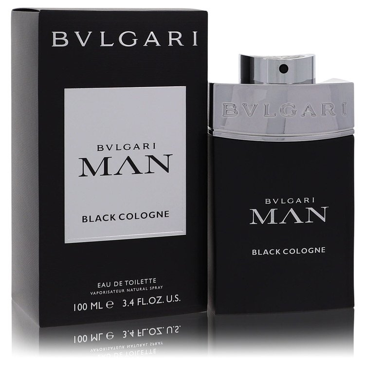 Bvlgari Man Black Cologne by Bvlgari Men's Eau De Toilette Spray (unboxed) 2 oz