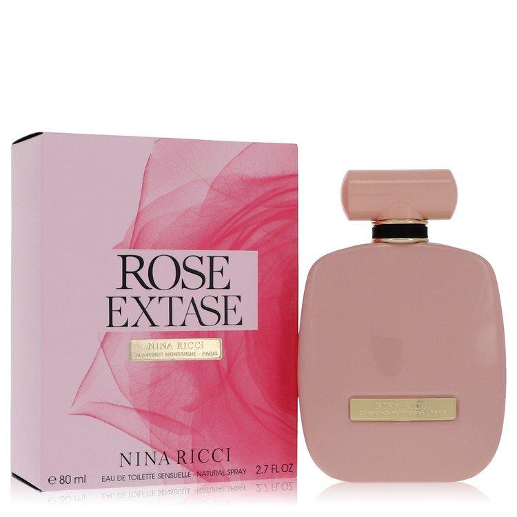 Rose Extase by Nina Ricci Women's Eau De Toilette Sensuelle Spray (unboxed) 2.7 oz