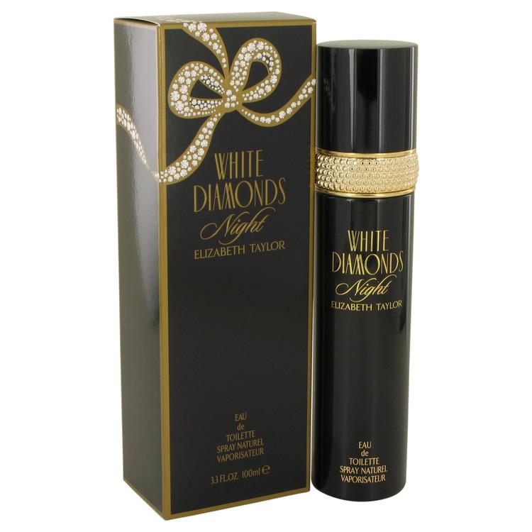 White Diamonds Night by Elizabeth Taylor Women's Eau De Toilette Spray (Tester) 1 oz