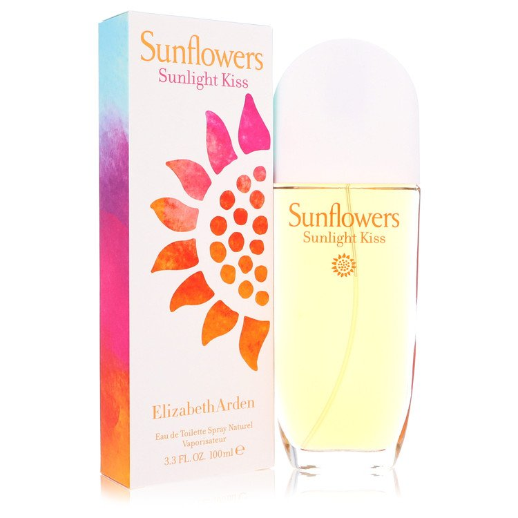 Sunflowers Sunlight Kiss by Elizabeth Arden Women's Eau De Toilette Spray (unboxed) 3.4 oz