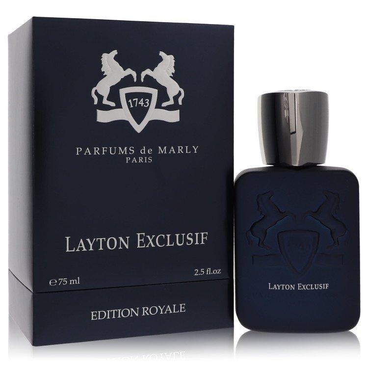 Layton Exclusif by Parfums De Marly Men's Eau De Parfum Spray 4.2 oz