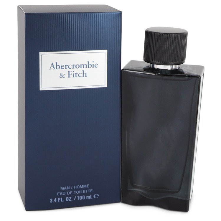 First Instinct Blue by Abercrombie & Fitch Men's Eau De Parfum Spray (unboxed) 3.4 oz