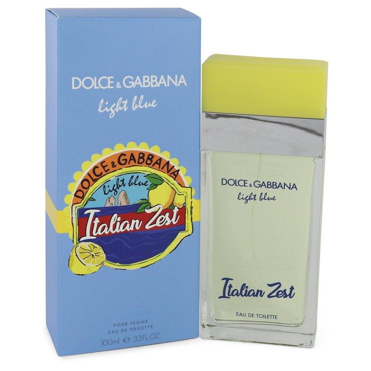 Light Blue Italian Zest by Dolce & Gabbana Women's Eau De Toilette Spray (Tester) 3.4 oz