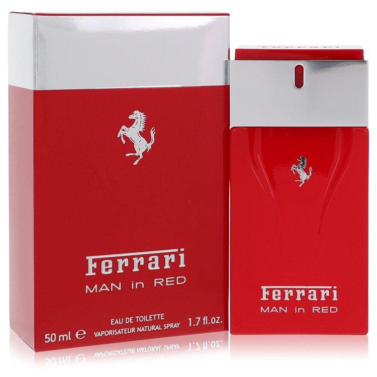 Ferrari Man In Red Cologne by Ferrari 50 ml EDT Spay for Men