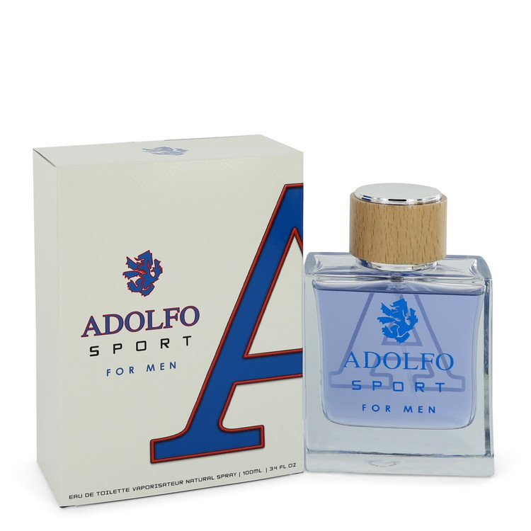Adolfo Sport by Adolfo Men's Eau De Toilette Spray (unboxed) 3.4 oz