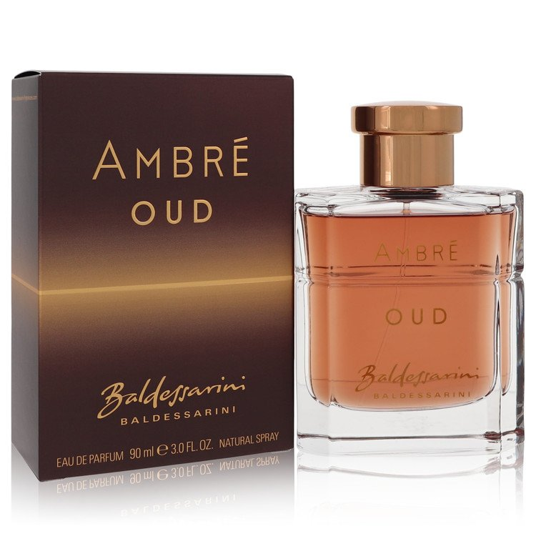 Baldessarini Ambre Oud by Hugo Boss Men's Eau De Parfum Spray (unboxed) 3 oz