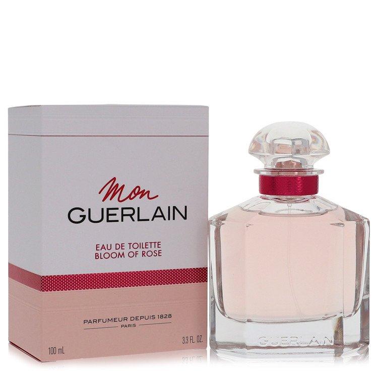 Mon Guerlain Bloom Of Rose Perfume 3.3 oz EDP Spay for Women Spray