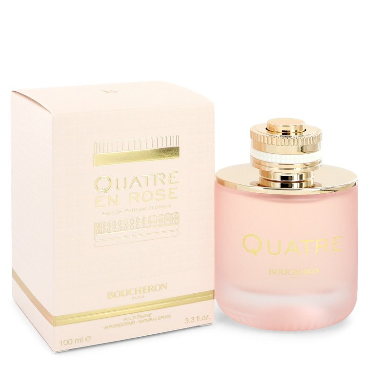 Quatre En Rose Florale by Boucheron Women's Vial (Sample) .06 oz