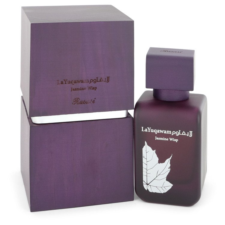 La Yuqawam Jasmine Wisp by Rasasi Women's Eau De Parfum Spray (unboxed) 2.5 oz