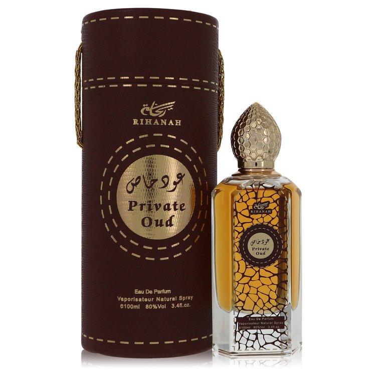 Rihanah Private Oud by Rihanah Men's Eau De Parfum Spray (Unisex unboxed) 3.4 oz