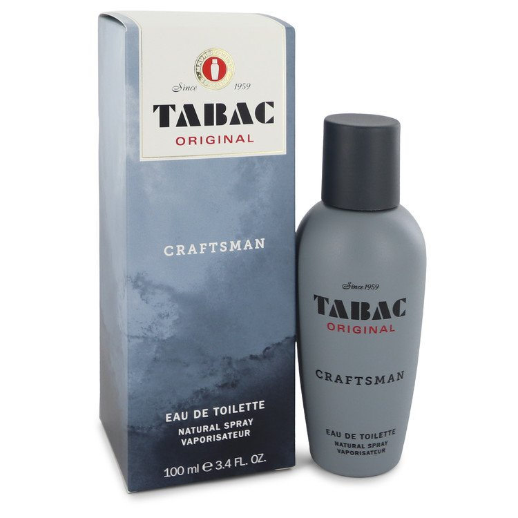 Tabac Original Craftsman by Maurer & Wirtz Men's Eau De Toilette Spray (unboxed) 3.4 oz
