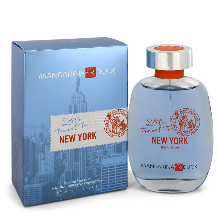 Mandarina Duck Let's Travel To New York by Mandarina Duck Men's Eau De Toilette Spray (unboxed) 3.4 oz