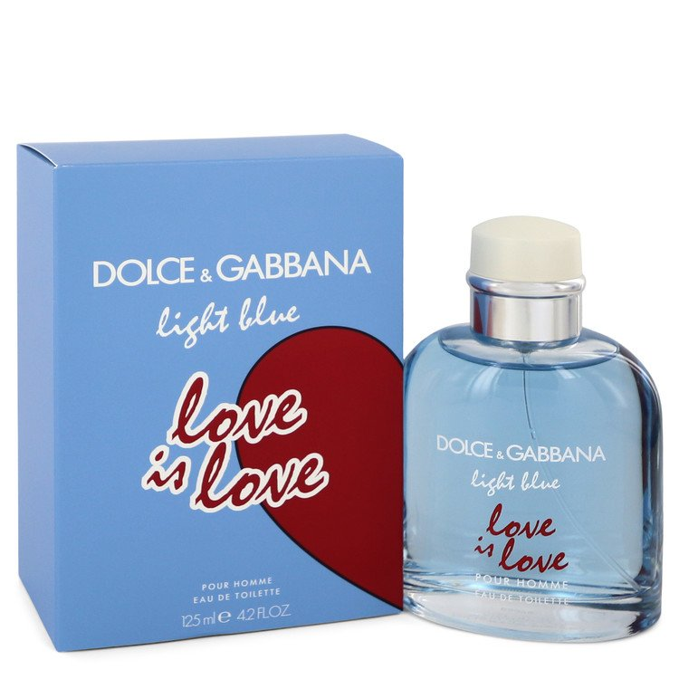 Light Blue Love Is Love by Dolce & Gabbana Men's Eau De Toilette Spray (unboxed) 4.2 oz