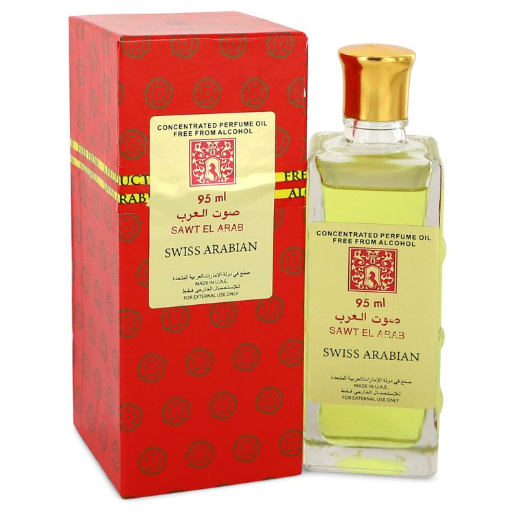 Sawt El Arab by Swiss Arabian Women's Concentrated Perfume Oil Free From Alcohol (Unisex Unboxed)) 3.2 oz