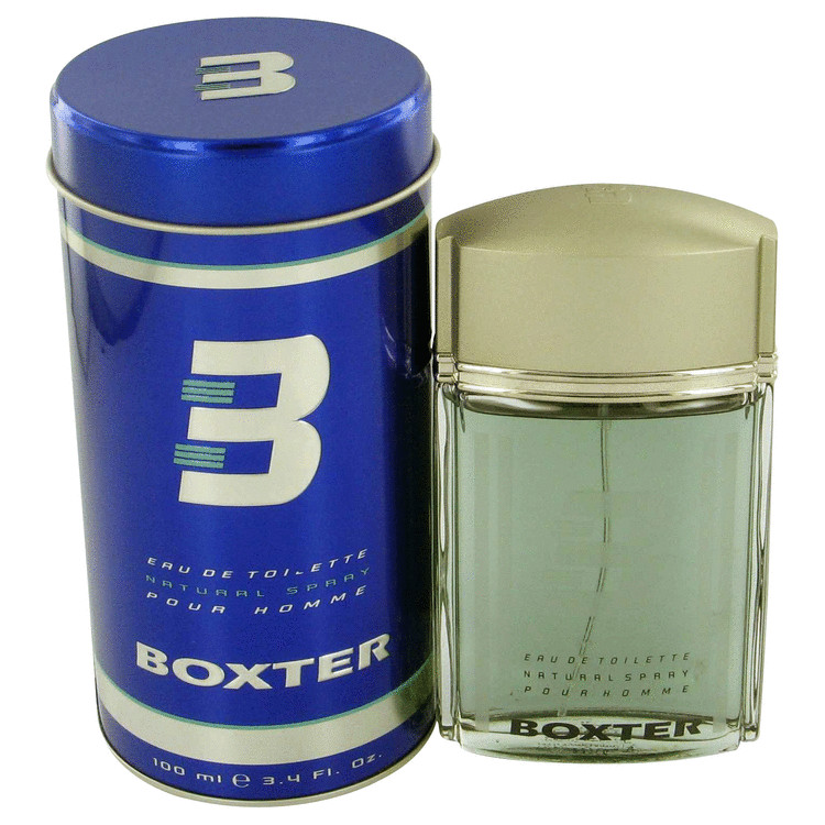 Boxter for Men, Gift Set (3.4 oz EDT Spray + 6.7 oz Shower Gel + 6.7 oz After Shave Balm)