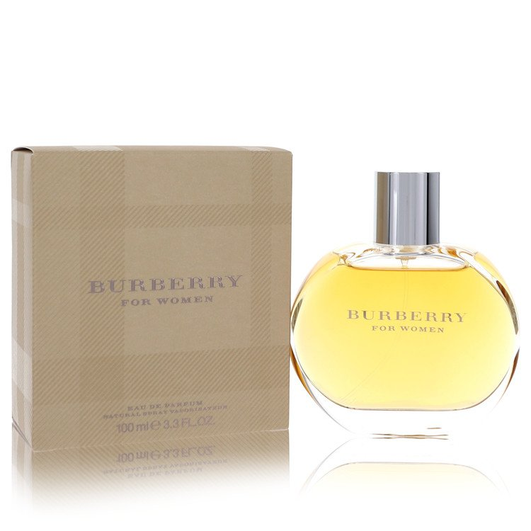 Burberry for Women, Gift Set (3.3 oz EDP Spray + 3.3 oz Body Lotion + 3.3 oz Shower Gel)