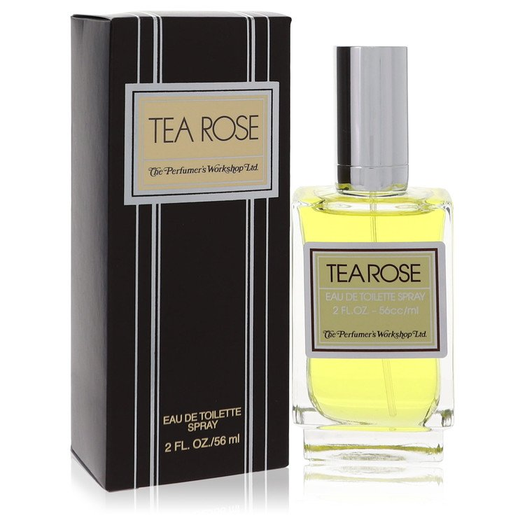 Tea Rose Perfume by Perfumers Workshop 60 ml EDT Spay for Women
