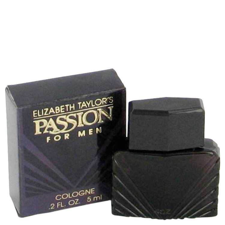 PASSION by Elizabeth Taylor for Men Mini Cologne (unboxed) .2 oz