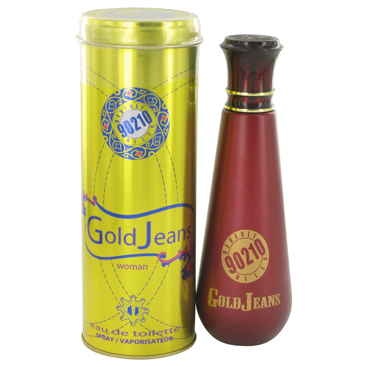 90210 Gold Jeans Perfume by Torand 100 ml EDT Spay for Women