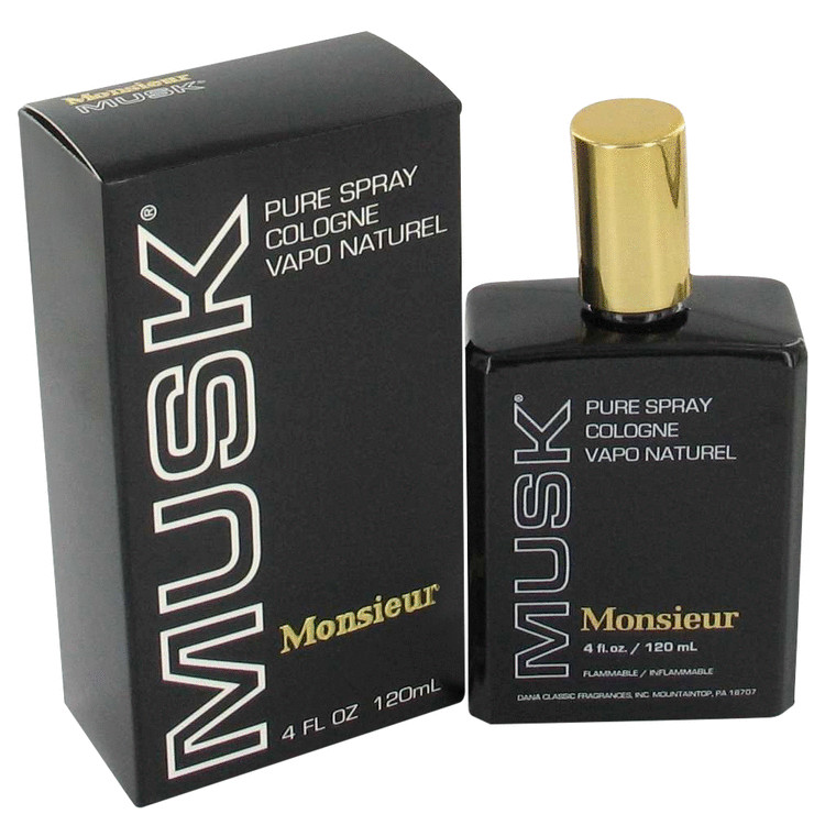 Monsieur Musk Cologne by Dana 120 ml Cologne Spray (unboxed) for Men