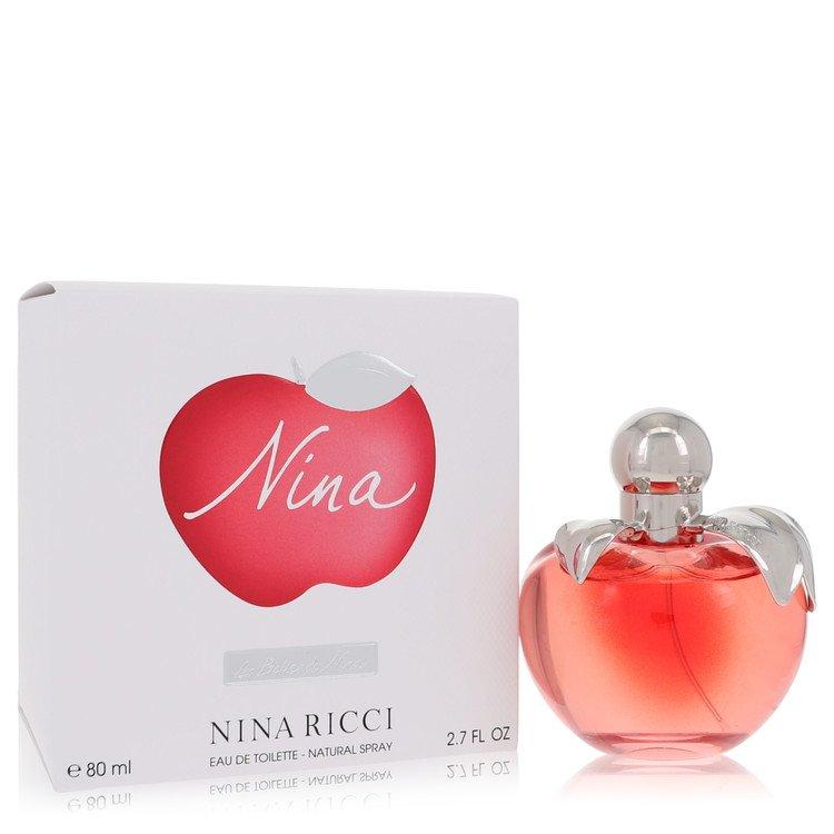 Nina for Women, Gift Set (1.0 oz EDT Spray + 1.7 oz Body Lotion + 1.2 oz Candle + .20 oz Mini EDT)