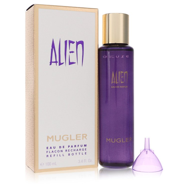 Alien Perfume by Thierry Mugler 100 ml Eau De Parfum Refill for Women