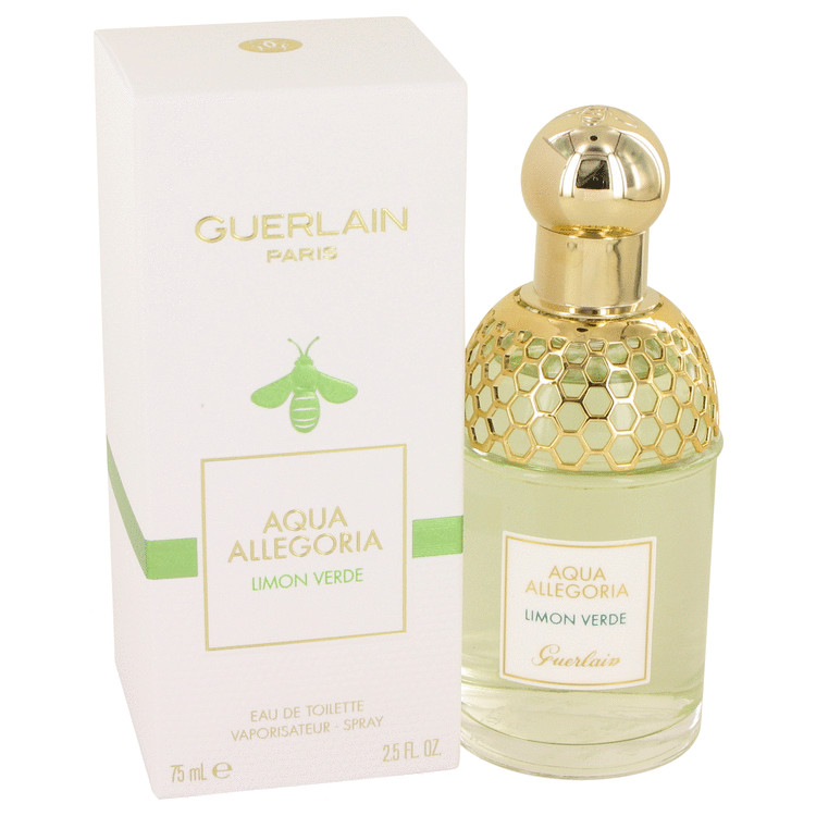 AQUA ALLEGORIA Limon Verde by Guerlain Eau De Toilette Spray 2.5 oz