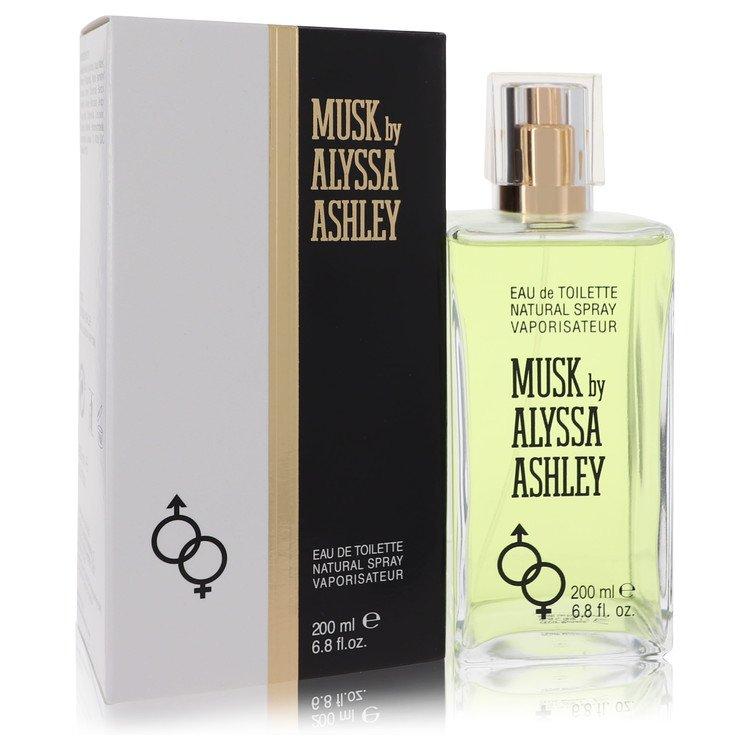 Alyssa Ashley Musk by Houbigant for Women Eau De Toilette Spray 6.8 oz