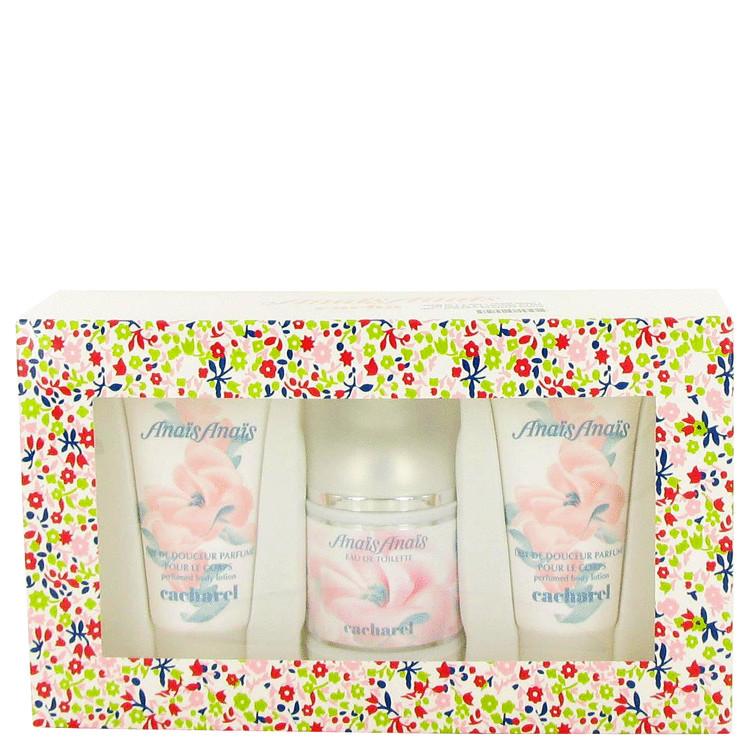 Anais Anais for Women, Gift Set (3.4 oz EDT Spray + Two 1.7 oz Body Lotions)