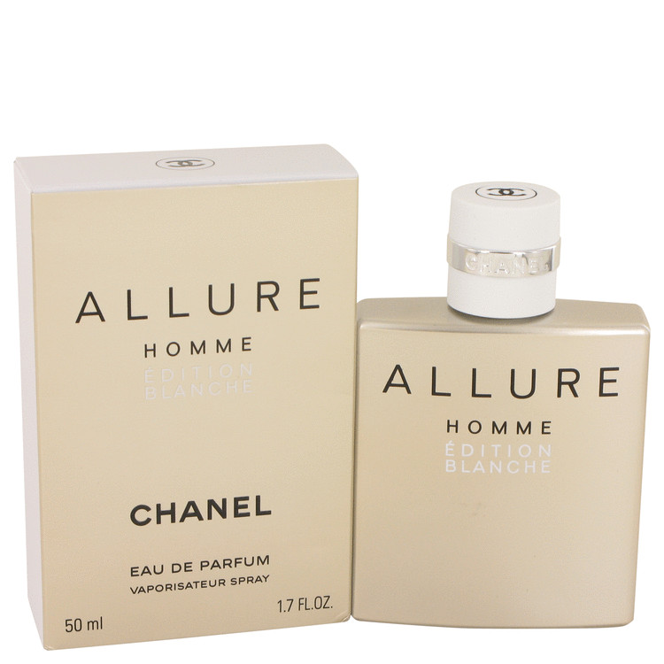 Allure Homme Blanche by Chanel for Men Eau De Parfum Spray 1.7 oz