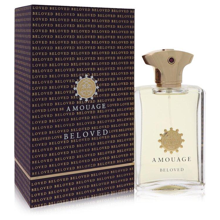 Amouage Beloved by Amouage for Men Eau De Parfum Spray 3.4 oz