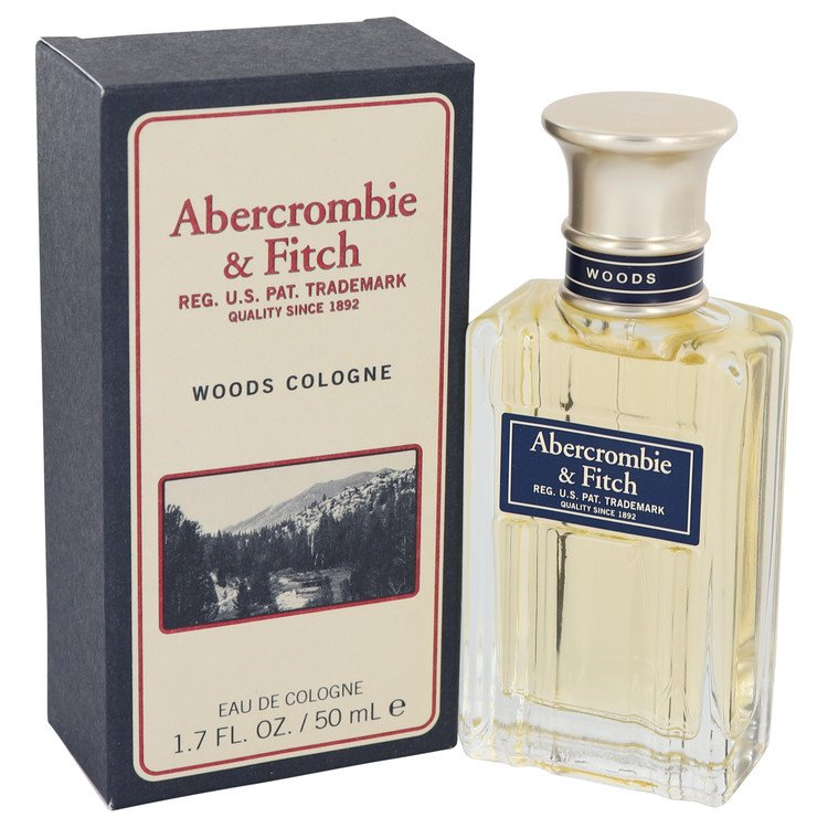 Abercrombie Woods Cologne 50 ml Eau De Cologne Spray for Men