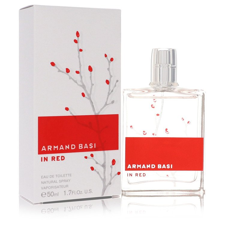 Armand Basi In Red Perfume by Armand Basi 50 ml EDT Spay for Women