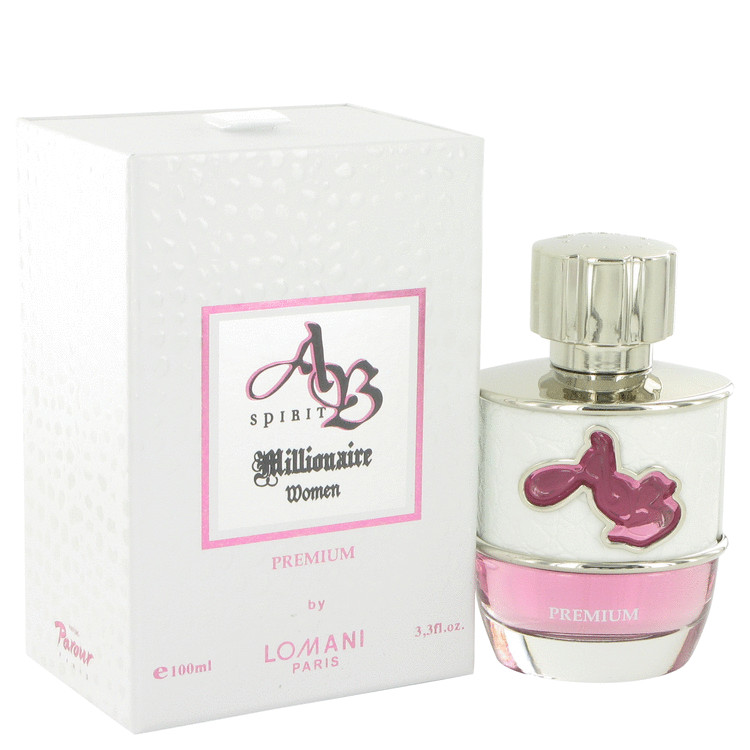 Ab Spirit Millionaire Premium Perfume 100 ml EDP Spay for Women