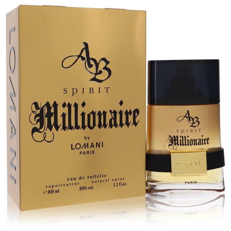Spirit Millionaire Cologne by Lomani 100 ml EDT Spay for Men
