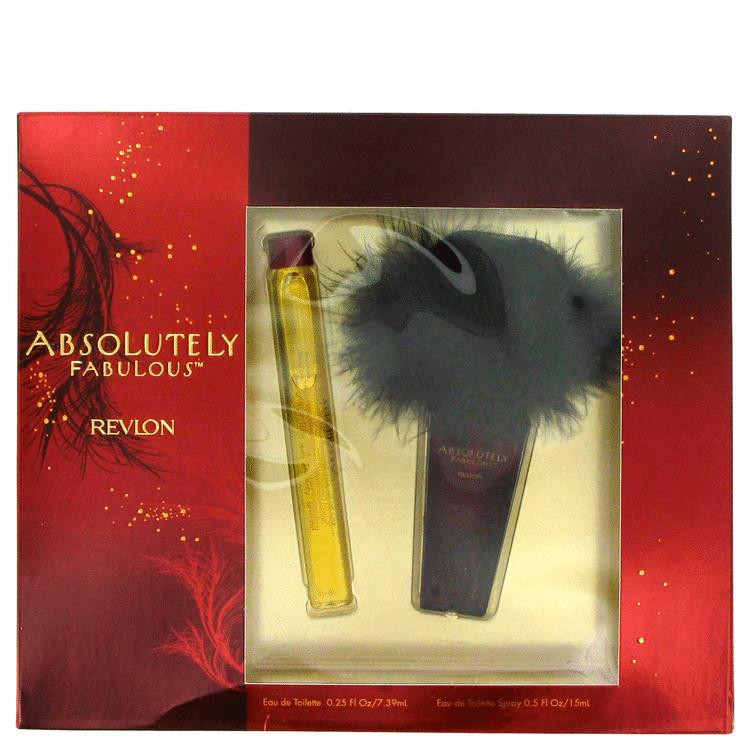 Absolutely Fabulous Gift Set -- Gift Set - 1/2 oz Eau De Toilette Spray + .25 oz Mini EDT for Women