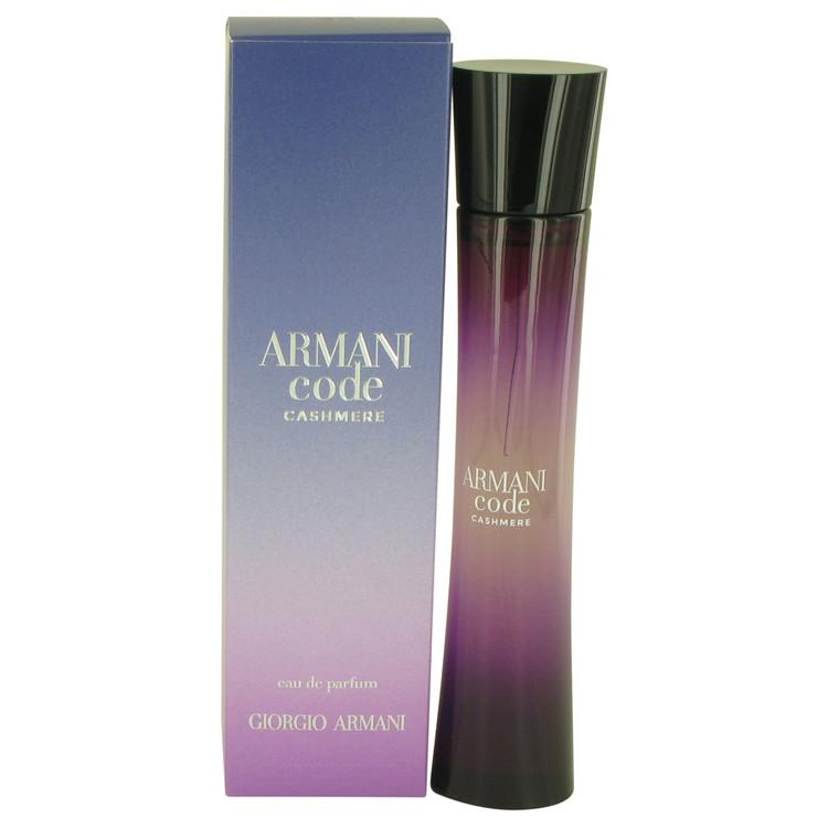 Armani Code Cashmere Perfume 75 ml EDP Spay for Women