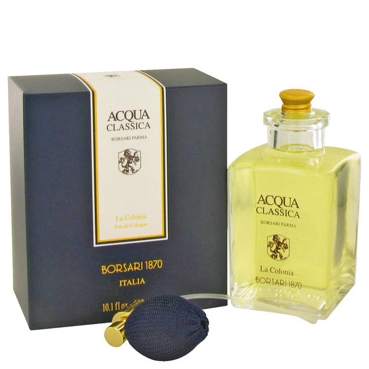 Acqua Classica Cologne by Borsari 10.1 oz EDC Spray for Men