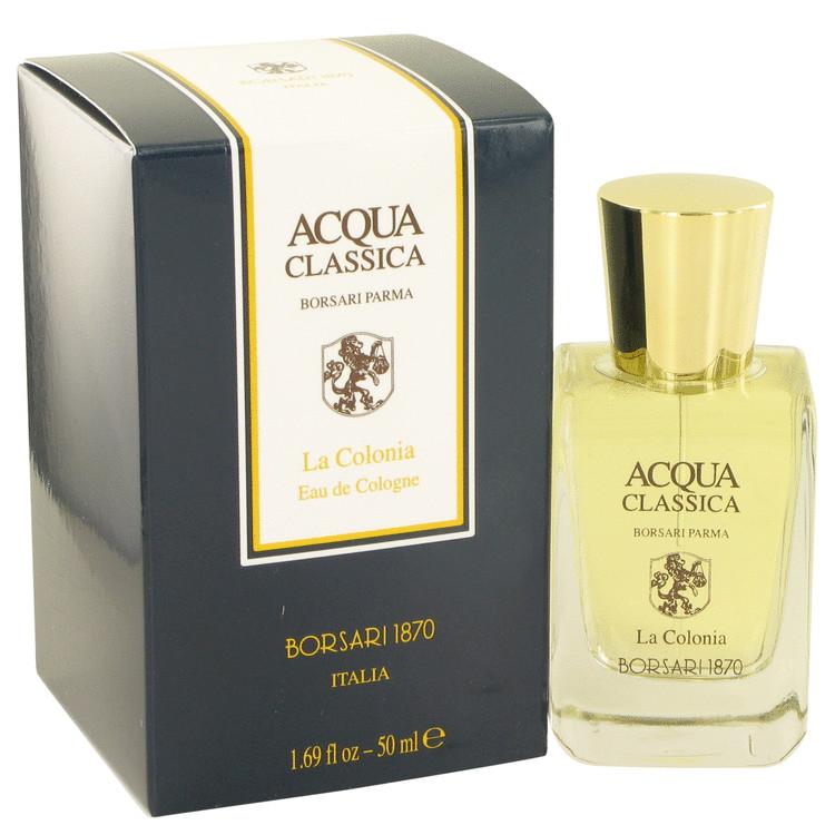 Acqua Classica Cologne by Borsari 1.69 oz EDC Spray for Men