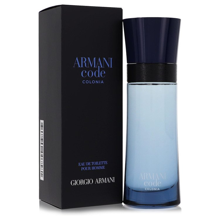 Armani Code Colonia by Giorgio Armani –  Eau De Toilette Spray 2.5 oz 75 ml for Men