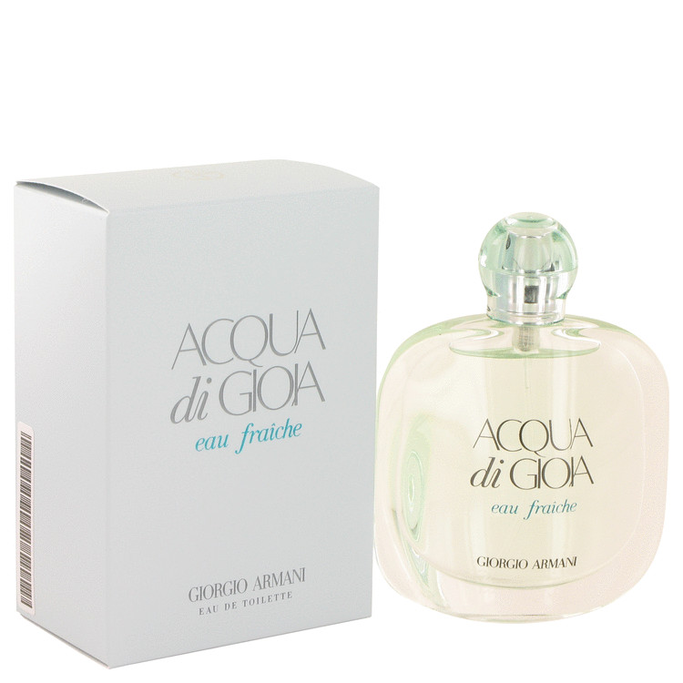 Acqua Di Gioia by Giorgio Armani for Women Eau De Toilette Fraiche Spray 1.7 oz