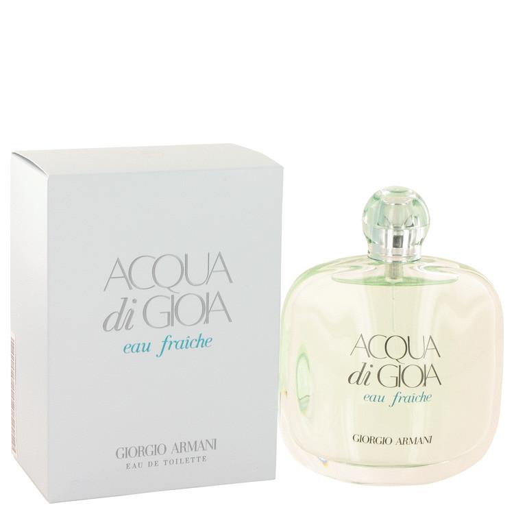Acqua Di Gioia Perfume 100 ml Eau De Toilette Fraiche Spray for Women